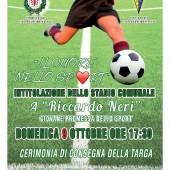"""Inaugurazione Stadio Comunale """"Riccardo Neri"""""""