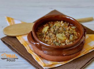 Come preparare la zuppa di farro e lenticchie