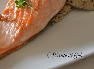Come preparare la spuma di salmone