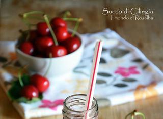Come fare il succo di ciliegia