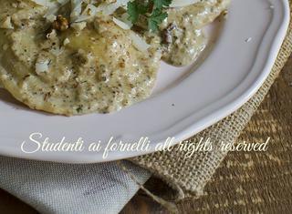 Ricetta: ravioli gorgonzola e noci