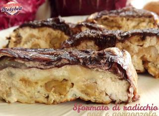 Ricetta: sformato di noci e gorgonzola
