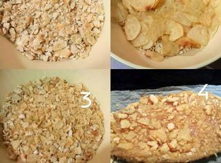 Come preparare il pollo impanato con patatine