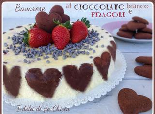 Come fare la bavarese al cioccolato bianco