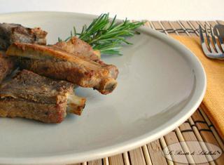 Come cucinare costine di maiale al forno