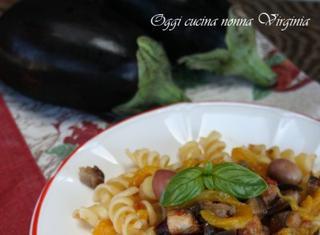 Ricetta: pasta al ragù di verdure