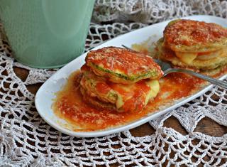 Ricetta: parmigiana di patate e zucchine