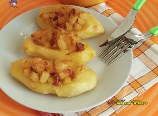 Come preparare le barchette di patate ripiene