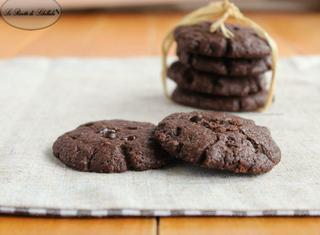 Come fare i cookies al doppio cioccolato