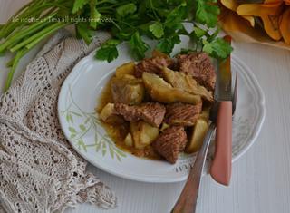 Ricetta: spezzatino con patate e carciofi