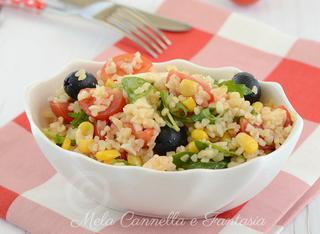 Ricetta: insalata fredda di bulgur