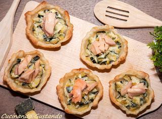 Come preparare la quiche al salmone
