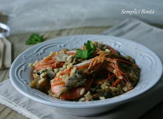 Come preparare il risotto mare e monti