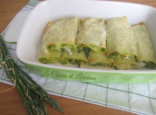Ricetta: crepes agli asparagi