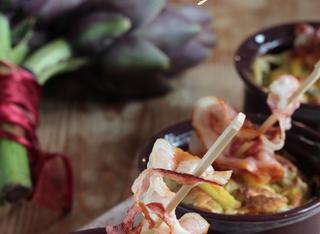 Ricetta: sformatini di carciofi e patate