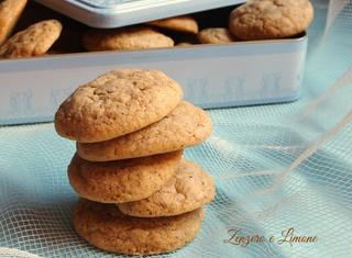 Ricetta: cookies cioccolato e nocciole