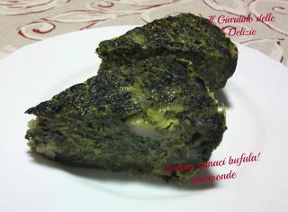 Ricetta per il tortino di spinaci