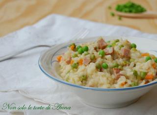 Come preparare il risotto piselli e prosciutto