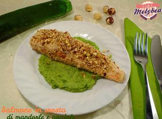 Ricetta: salmone in crosta di mandorle