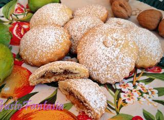 Ricetta: biscotti fichi e noci