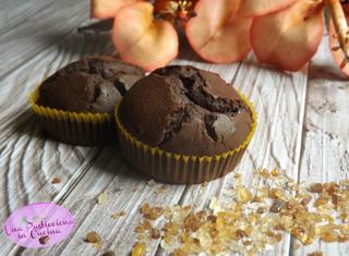Ricetta: muffin al cioccolato senza latte e uova