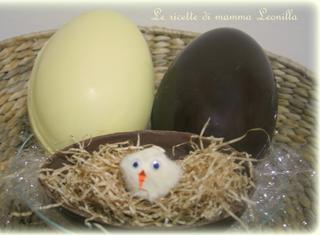 Come fare in casa l'uovo di cioccolato