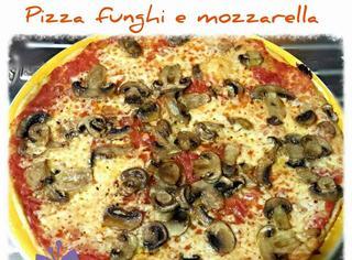 Come preparare la pizza con i funghi