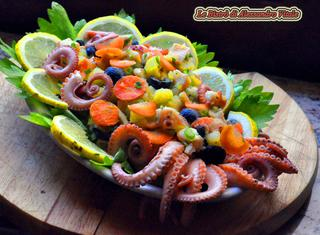 Ricette: insalata di moscardini