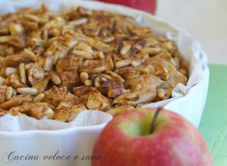 Come preparare un dolce con mele e pinoli