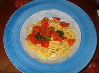Ricetta degli spaghetti sciué sciué