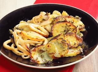 Calamari con patate