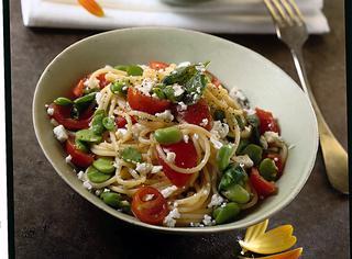 Ricetta: spaghetti al basilico