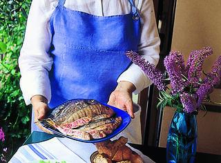 Come servire la grigliata di pesce