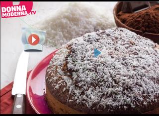 Video ricetta: Torta al cioccolato e cocco