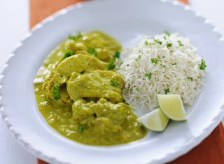 Ricetta Pollo al curry versione light