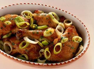 Come preparare il pollo ai porri