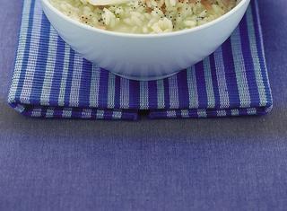 Ricetta: risotto al salmone con semi di papavero