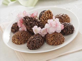 Ricetta Uova di cioccolato croccanti