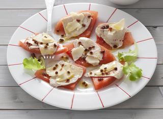 Ricetta: tagliata di tacchino con anguria