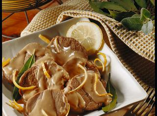 Come preparare l'arrosto di vitello al limone
