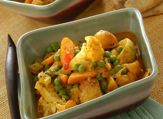 Curry di verdure piccanti
