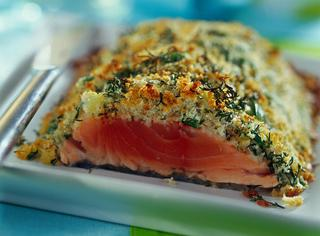 Ricetta: salmone in crosta