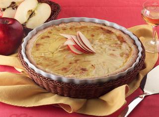 Ricetta: crostata di crema e mele