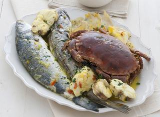 Bouillabaisse con pesce San Pietro