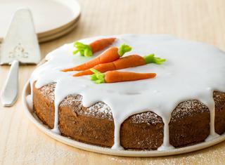 Torta alle carote e mandorle