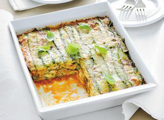Zucchine gratinate alla parmigiana