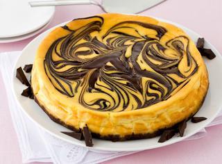 Cheesecake variegato alla Nutella ®
