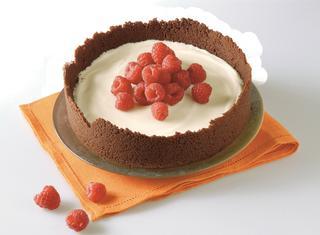 Cheesecake fredda senza gelatina