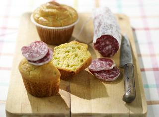 Muffin salati di fave
