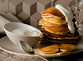 Pancake alle prugne secche